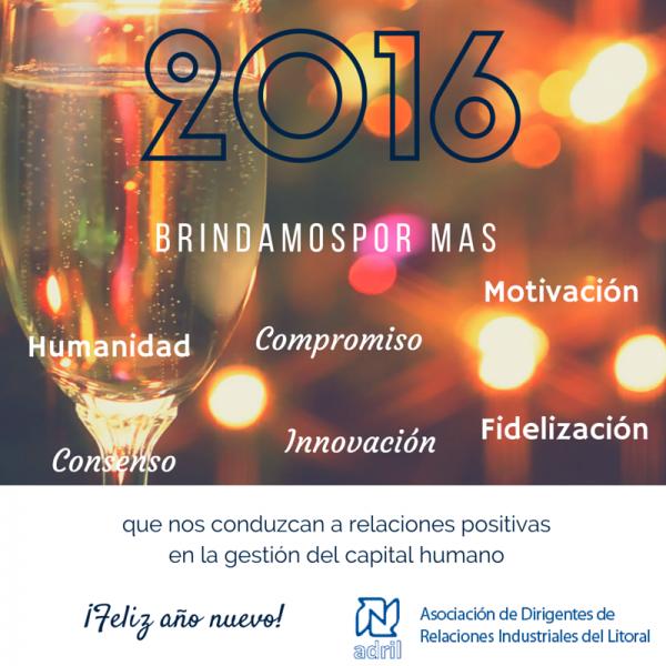 Feliz 2016 - ADRIL